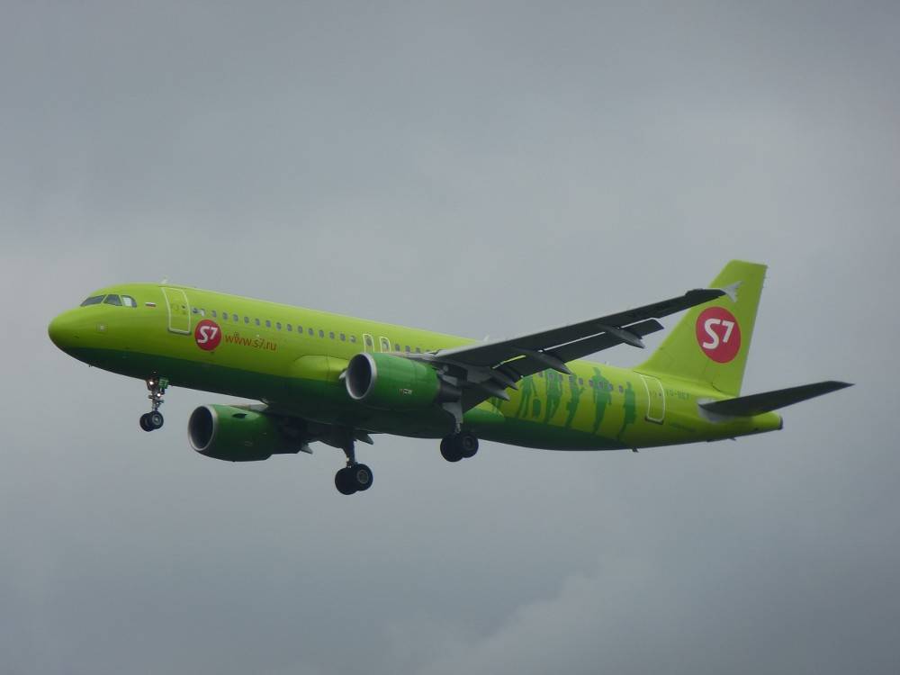 S7 Airlines VQ-BET