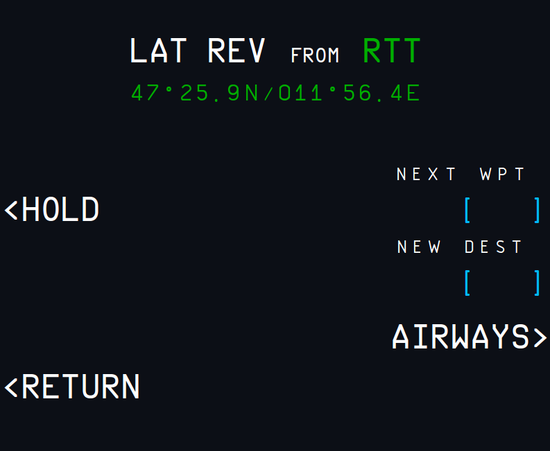 LAT REV from RTT